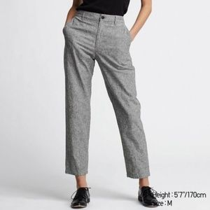 UNIQLO | Womens Linen Cotton Tapered Pants